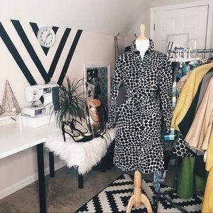 Isaac Mizrahi Women's Button Front Dress Sz M